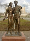 The Sculpture «The Lovers»