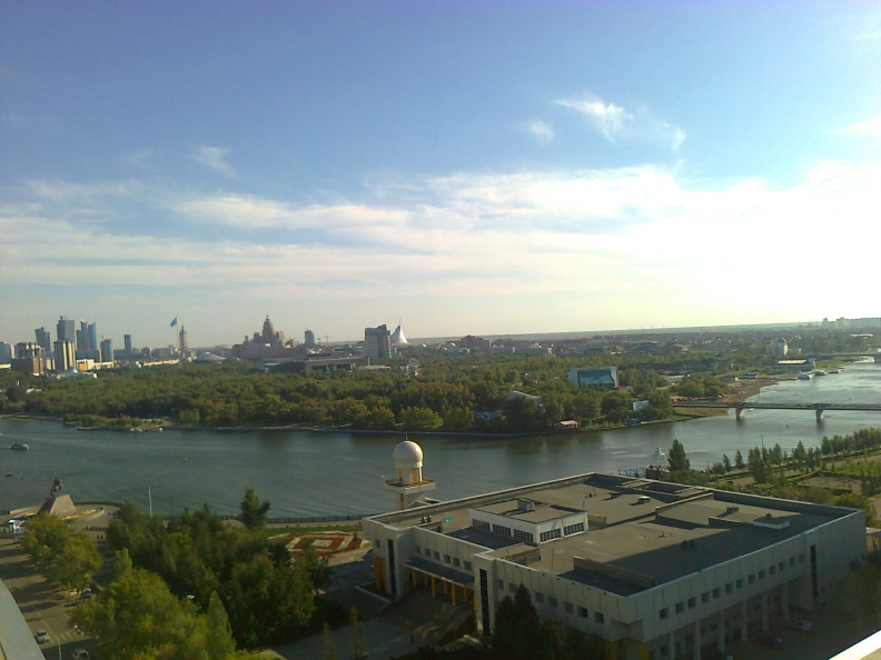Astana View to the left bank.jpg
